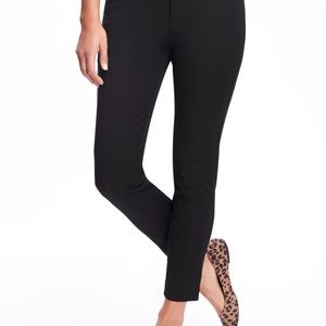 Old Navy Black Ankle Pixie Pants